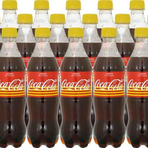 coca-cola lemon