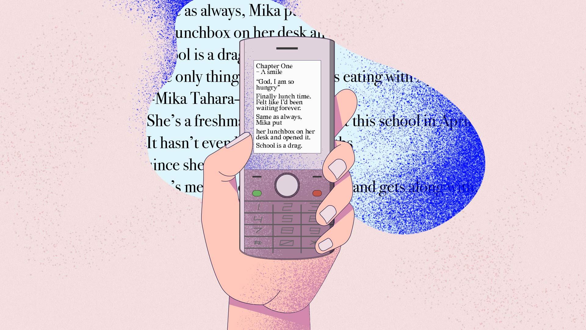 romanzi per cellulare