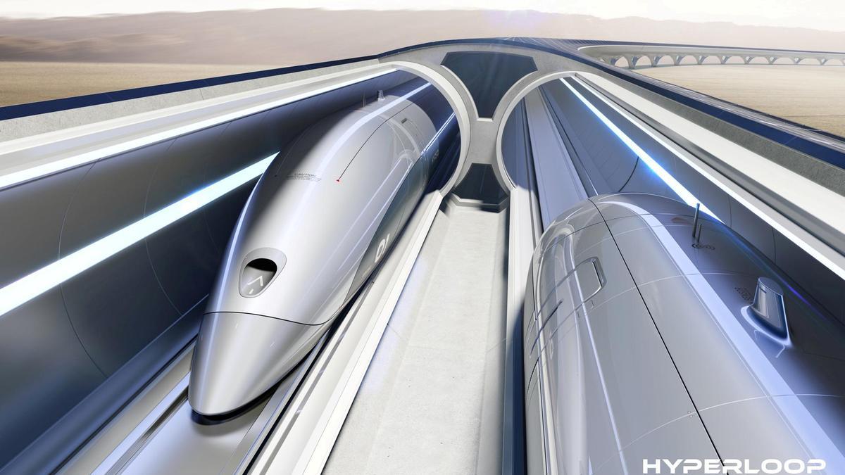 Un sistema di trasporto in tubgi ad alta velocità per merci e passeggeri