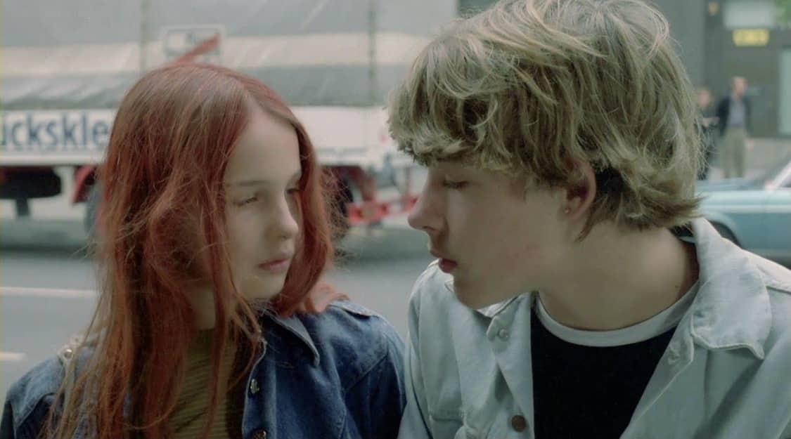 film christiane f, immagine che parla di adolescenza