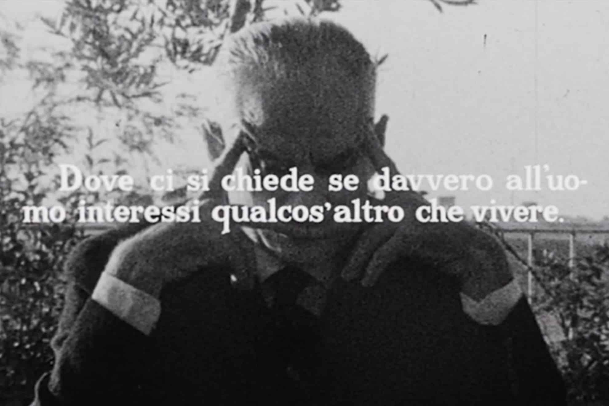 Comizi d'amore Pier Paolo Pasolini