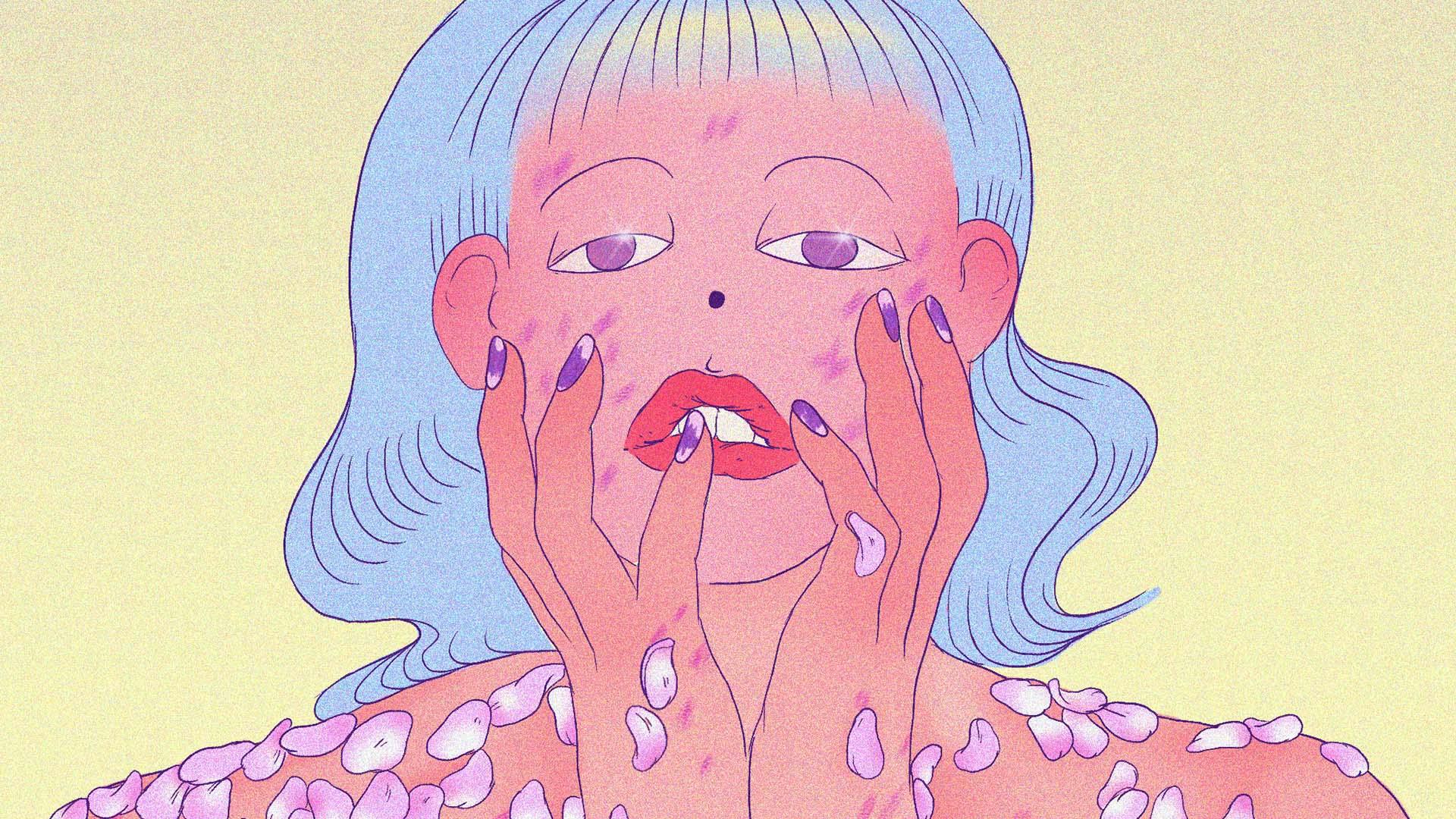 illustrazione it girl